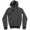 Толстовка Fallen Cobra Hood Fleece Black/Grey/Gen 2009 г инфо 8526y.