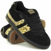 Обувь Adio Shaun White Black/Gold/Gum 2009 г артикул 9776y.