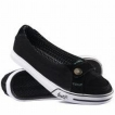 Обувь жен DVS Farah Slip Black Canvas 2009 г инфо 2093o.